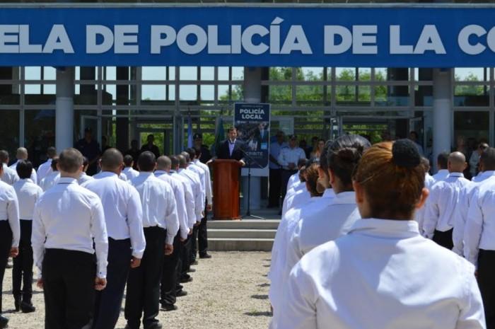 150 son los aspirantes que comenzaron a formarse para la fuerza preventiva de La Costa