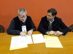A través de un convenio firmado por De Jesús y Ricardo Nidd se formarán residentes en La Costa