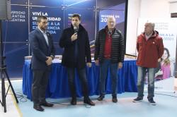Acto de entrega de becas en la Universidad Atlántida Argentina