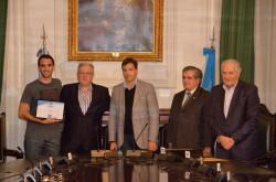 Alumnos de la UBA recibieron Becas Municipales de Estudio