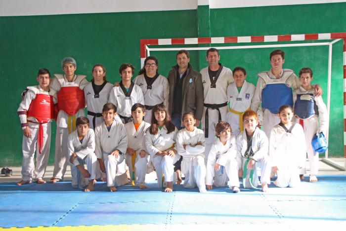 Alumnos de las Escuelas de Deportes realizaron una muestra de entrenamiento
