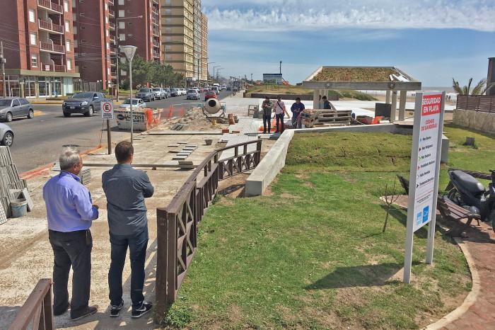 Avanza la obra de la nueva Oficina de Turismo de Mar de Ajó