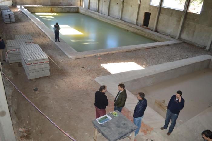 Avanza la obra del nuevo natatorio de Santa Teresita
