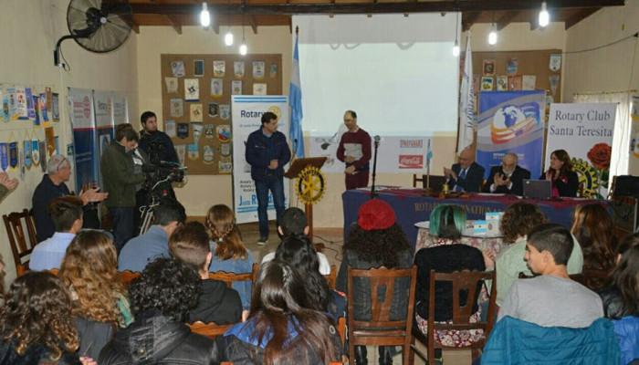 COmenzó la cuarta edición de la Justa del Saber del Rotary Santa Teresita