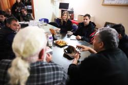 Casa de Veteranos de guerra de Malvinas reunidos con el intendente Juan Pablo de Jesús