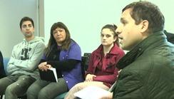 Reunión en el Centro de Diagnóstico