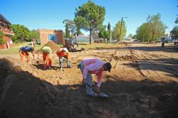 Continúan las obras del Plan Integral de Asfalto en Las Toninas