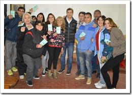 Entrega de Libretas alumnos del Fines