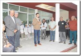 Juan Pablo de Jesús inaugura el Centro Cultural