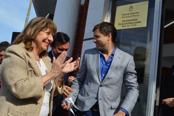 Dos nuevas sedes de la Justicia se inauguraron en La Costa