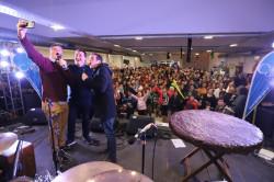 Durante tres días centenares de vecinos y turistas visitaron la Fiesta en el Multicultural de San Bernardo