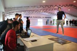 El CEMARD realizó nuevas pruebas para jóvenes deportistas