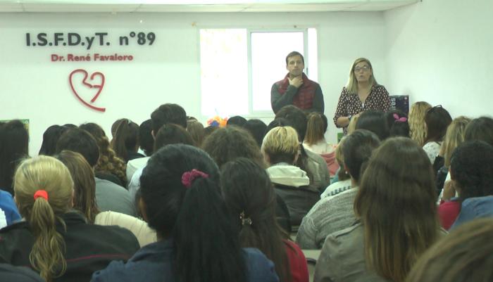 El acto de entrega se hizo en el Instituto René Favaloro