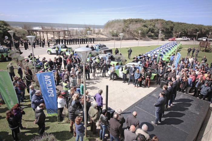 El acto de entrega se realizó en la localidad de Mar del Tuyú