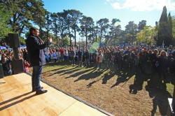El acto tuvo lugar en el Vivero Municipal Cosme Argerich
