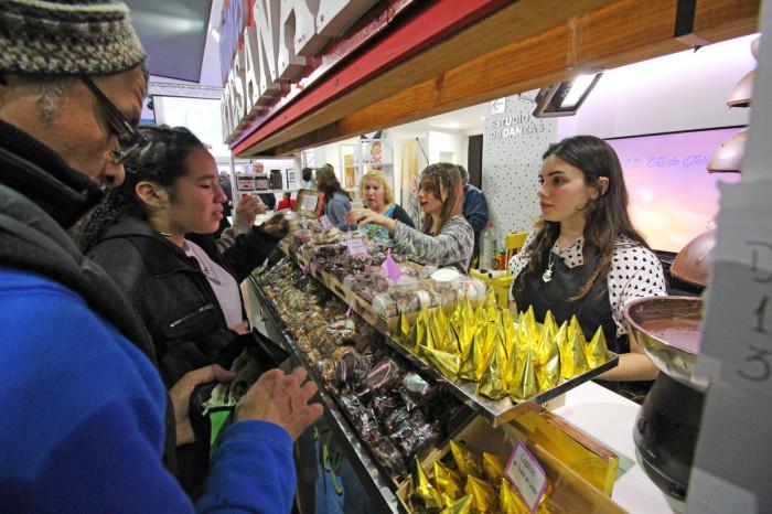 El distrito alfajorero, principal protagonista, mostró sus delicias a los vecinos y turistas