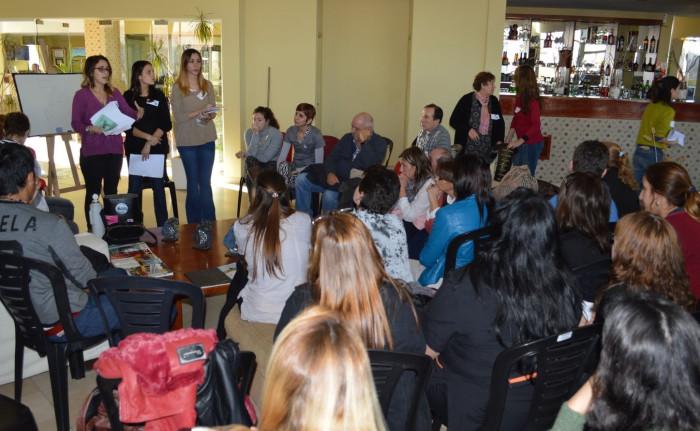 El encuentro, que se desarrolló en San Taresita, convocó a más de 200 trabajadores de la salud