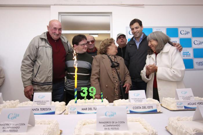 El intendente De Jesús encabezó la celebración del aniversario de La Costa