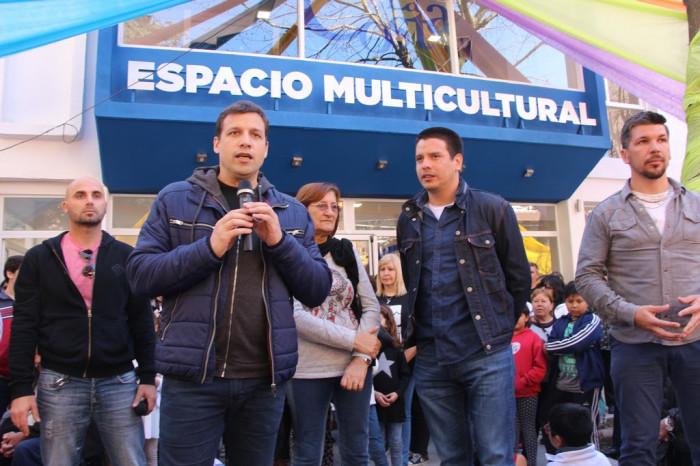 El intendente De Jesús reinauguró el Espacio Multicultural de San Bernardo