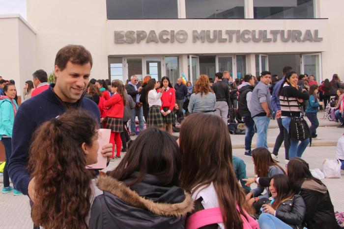 El intendente De Jesús visitó las Jornadas Turísticas Provinciales Escolares
