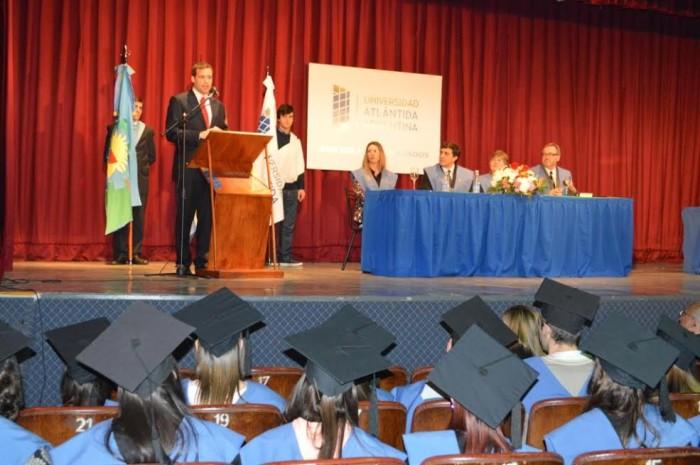 El intendente Juan Pablo de Jesús acompañó a los nuevos graduados que tiene La Costa