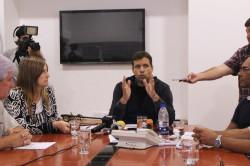 El intendente Juan Pablo de Jesús dio una conferencia para anunciar el incremento salarial para los empleados municipales de La Costa