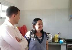 El intendente, Juan Pablo de Jesús, entregó un subsido al jardín del barrio marajanse Villa Clelia