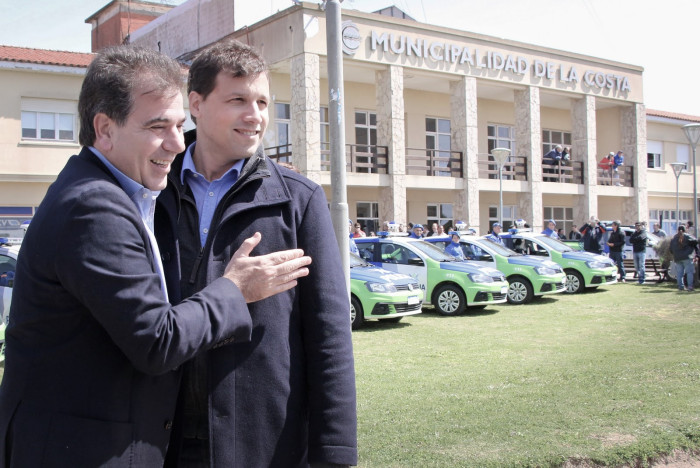 El intendente Juan Pablo de Jesús recibió al Ministro Cristian Ritondo en el Palacio Municipal