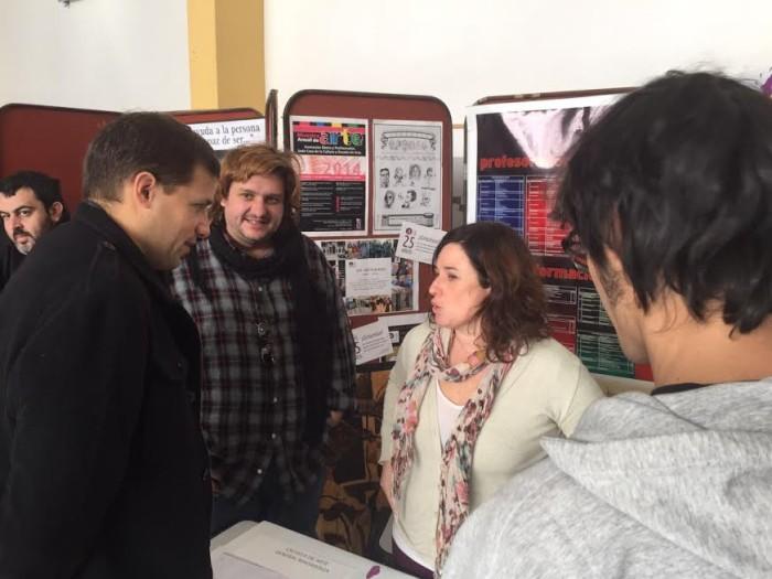 El intendente Juan Pablo de Jesús recorrió la Expo-Educativa 2015
