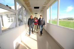 El intendente Juan Pablo de Jesús recorrió la obra del Nuevo Hospital de Santa Teresita
