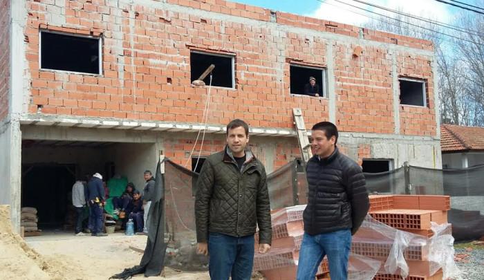 El intendente Juan Pablo de Jesús recorrió las instalaciones de futuro hogar de resguardo para mujeres víctimas de violencia de género