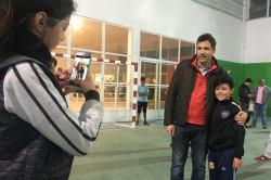 El intendente Juan Pablo de Jesús visitó el Polideportivo de Santa Teresita