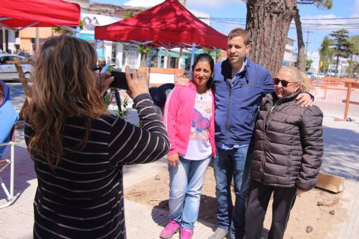 El intendente Juan Pablo de Jesús visitó la Feria Verde