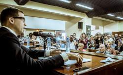 El intendente de La Costa, Juan Pablo de Jesús, inauguró el período de sesiones del HCD