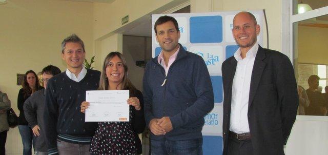 El intendente de La Costa, Juan Pablo de Jesús, entrgó certificados a los agentes municipales que realizaron sus capacitaciones