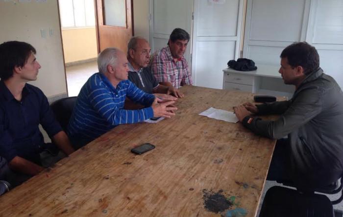 El intendente de La Costa diagramó tareas con el delegado de Las Toninas