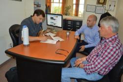 El intendente de La Costa firmó la toma de un crédito del Banco Provincia