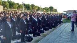 El intendente de la Municipalidad de La Costa, Juan Pablo de Jesús, visitó la Escuela de Policías en Santa Teresita