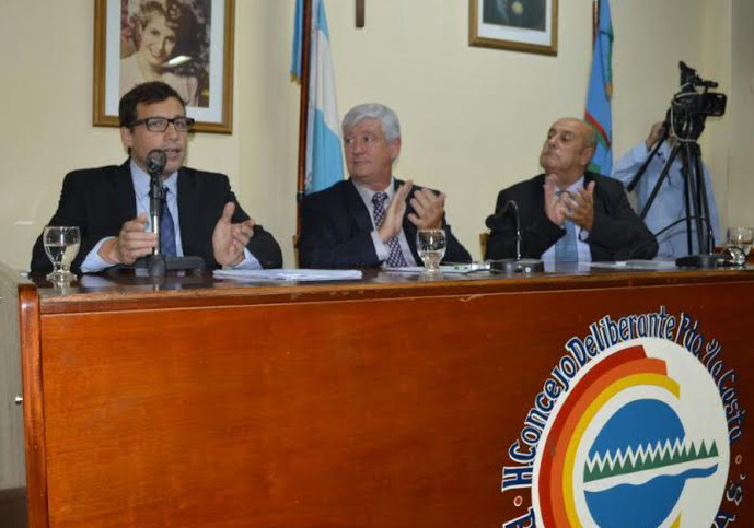 El jefe comunal costero realizó anuncios para distintas áres de gestión municipal