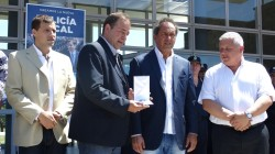 El mandatario provincial recibió una distinción por parte del Gobierno municipal