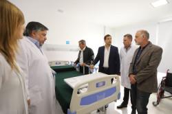 El nuevo sector del Hospital Municipal de Mar de Ajó consta de 900 metros cuadrados