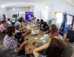 El titular de la SEDRONAR, Juan Carlos Molina, presentó oficialmente seis Puntos de Encuentro Comunitario (PEC), que ya comenzaron a trabajarse en la Municipalidad de La Costa.