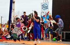 El acto contó con la participación artística de los jóvenes del programa municipal de inclusión, Agite