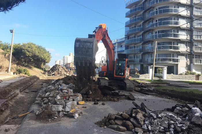 En distintas localidades se llevan adelante obras de mejoramiento de suelo