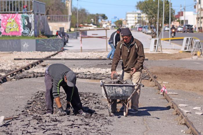 En esta primera etapa los trabajos se están llevando a cabo entre la calle 40 y la 34