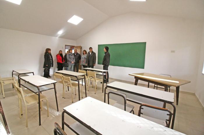 En lo que va de 2017 el Gobierno de La Costa ya realizó 12 aulas con fondos municipales