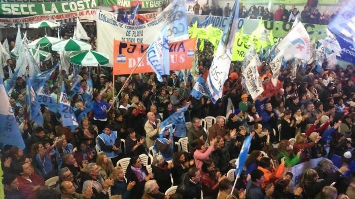 Gremios y militantes manifestaron su rotundo apoyo a Juan Pablo de Jesús