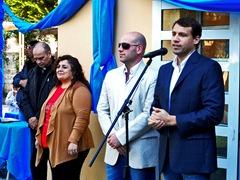 Inauguración de aulas en la Escuela 10 de Mar de Ajó Portadaa