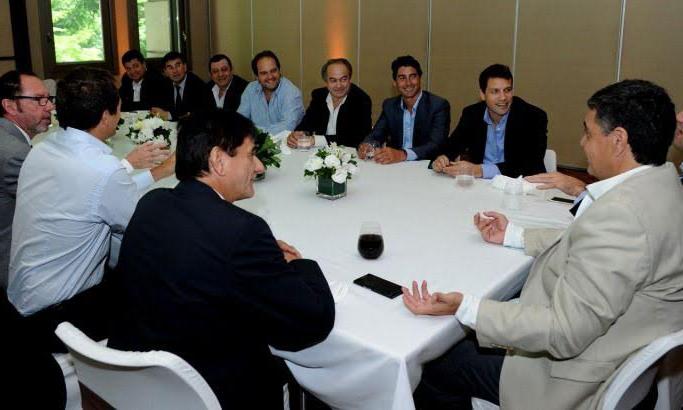 Intendentes bonaerenses se reunieron con Jorge Macri, presidente del Grupo Provincia