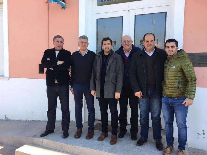 Intendentes y representantes peronistas de la Quinta Sección Electoral